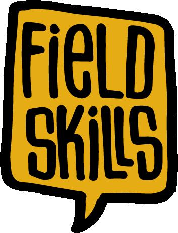 En logotyp för Field Skills.